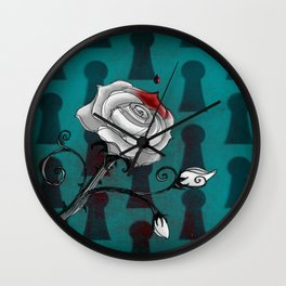 Bloody Alice Wall Clock