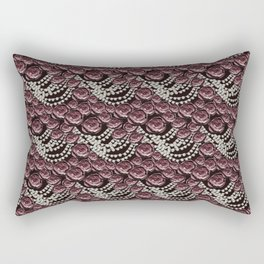 roses and pearls Rectangular Pillow
