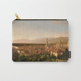 View of the Duomo and Florence, Italy by Thomas Cole Carry-All Pouch