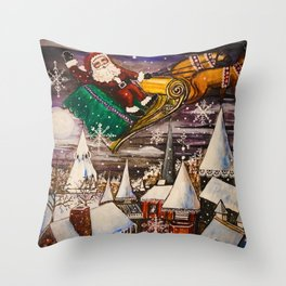 To All a Good Night Throw Pillow