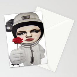 from outer space Stationery Cards