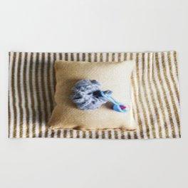 Baby King Lint Beach Towel