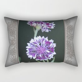 Bachelor Button from the Frosted Queen Mix Rectangular Pillow