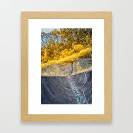 Duct Low View Framed Art Print