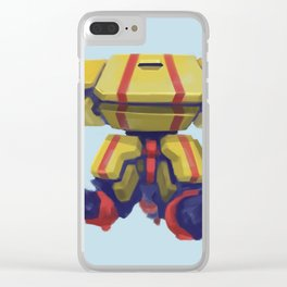 Spider Mech Clear iPhone Case