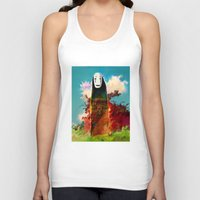 chihiro Tank Tops featuring no face by ururuty