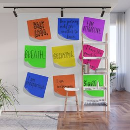 Affirmations Wall Mural