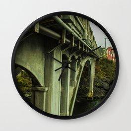 Puentes de Oregon Wall Clock