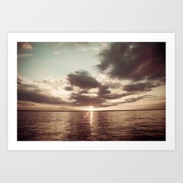 Lake Livingston Sunset Art Print