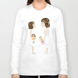 """""""Letras Mayores"""" Long Sleeve T-shirt"""