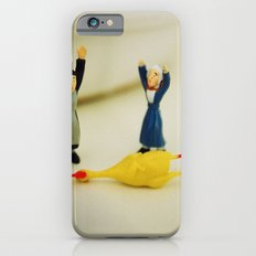 HANDS UP - who killed the chicken? iPhone 6s Slim Case