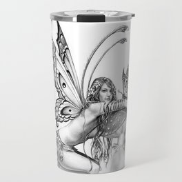 toadstool fairy Travel Mug