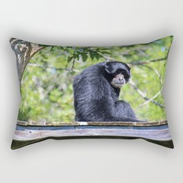 Wispy Whiskers Rectangular Pillow