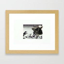 Hail  Framed Art Print