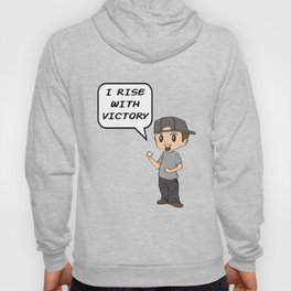Inspirational Victorious Tee Design I RISE Hoody