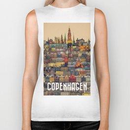 Copenhagen Facades Biker Tank