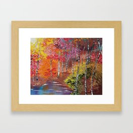 Seasons of Change Framed Art Print