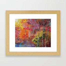Seasons of Change Framed Art Print