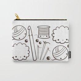 crochet cute - kawaii craft supplies Carry-All Pouch