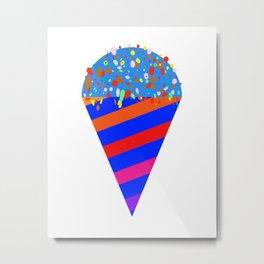 Ice Cream Utopia Metal Print