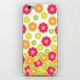 Citrus slices iPhone Skin