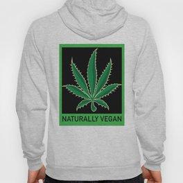 Naturally Vegan Pot Leaf Hoody