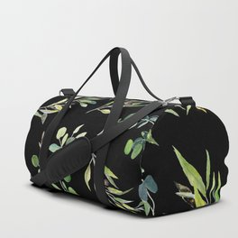 Eucalyptus and Olive Pattern  Duffle Bag