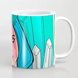 The crystals and the girl Coffee Mug
