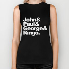 John, Paul, George & Ringo Biker Tank