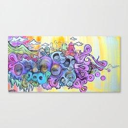 west coast RANDOMNESS Canvas Print