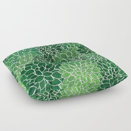 Floral Abstract 23 Floor Pillow