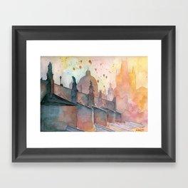 Charles Bridge, Prague Framed Art Print
