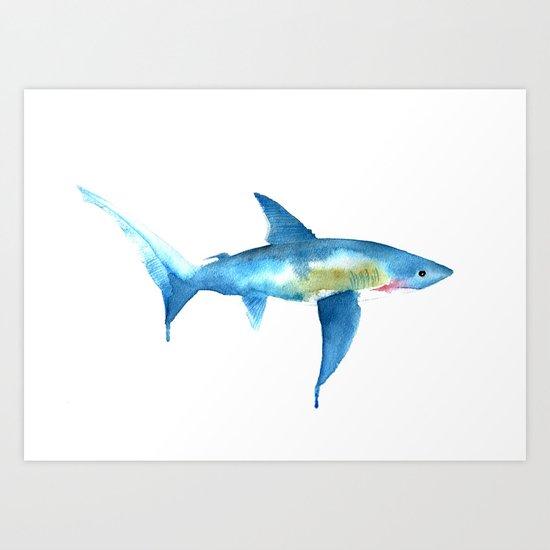 Thresher Shark Art Print