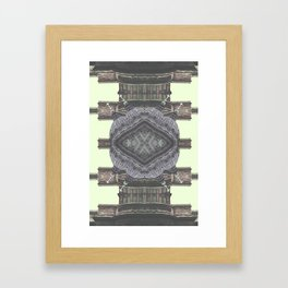 Architecture navajo Framed Art Print