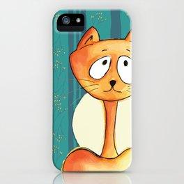 Conscious Cat - Hug iPhone Case