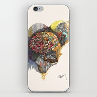 notebook iPhone & iPod Skins featuring notebook flora by Hayley Powers Studio