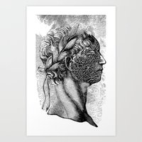 apollo Art Prints featuring Apollo by DIVIDUS DESIGN STUDIO