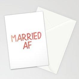 Married AF Stationery Cards