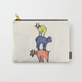 3 Billy Goats Up Carry-All Pouch