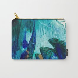 Bright Ocean Spaces, Tiny World Collection Carry-All Pouch