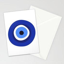 evil eye symbol Stationery Cards