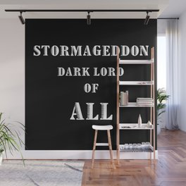 Doctor Who Stormageddon Dark Lord of All Wall Mural