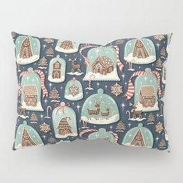 Gingerbread Village Pillow Sham