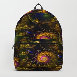 Continium 3D Flame Fractal Backpack