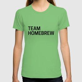 Team Homebrew T-shirt
