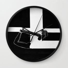 BW.LYING Wall Clock
