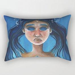Athena Victorious Rectangular Pillow
