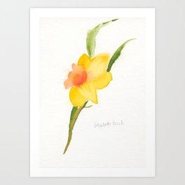 Daffy for Spring Art Print