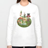 concert Long Sleeve T-shirts featuring Night Concert by Simone Gatterwe
