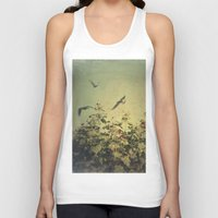 freedom Tank Tops featuring Freedom by Victoria Herrera